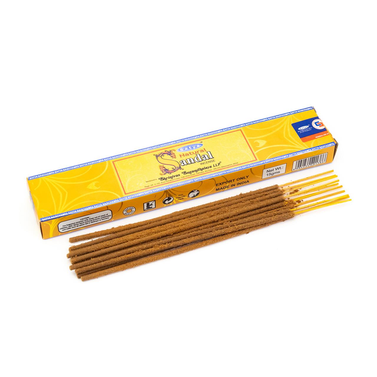Natural Sandal Incense Sticks