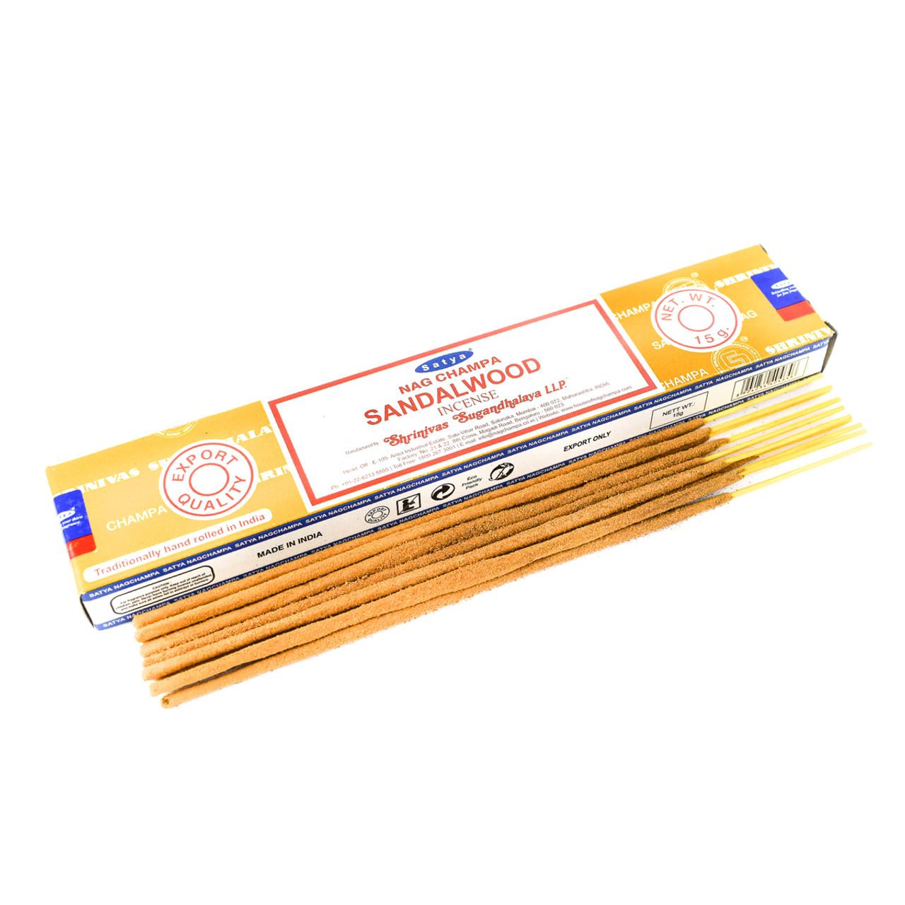 Sandalwood Satya Incense Sticks Holisticshop Co Uk