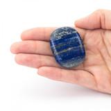 Lapis Lazuli Crystal Palm Stone
