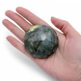 Large Labradorite UFO Palm Stone