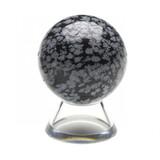Snowflake Obsidian Crystal Sphere (40mm)