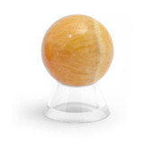 Orange Calcite Crystal Sphere (35mm)