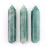 Green Aventurine Crystal Massage Wand
