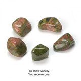 Unakite Tumblestone (from South Africa)