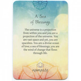 Namaste Blessing & Divination Cards by Toni Carmine Salerno