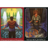 Psychic Tarot Oracle Cards Deck by John Holland