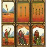The Golden Tarot by Liz Dean