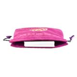 Triple Goddess Purple Velvet Tarot / Oracle Card Bag