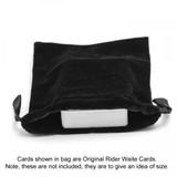 Large Black Velvet Tarot / Oracle Card Bag