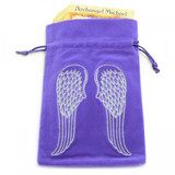 Purple Angel Wings Tarot / Oracle Card Bag