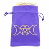 Purple Moon Goddess Tarot / Oracle Card Bag