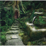 Entrance to Rivendell Greeting Card (Blank)