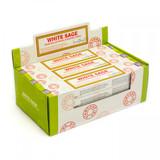 White Sage Hand Rolled Masala Incense Sticks