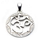 Om Symbol Pendant (Sterling Silver)