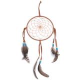 Large Dark Brown Navajo Dream Catcher (6 inch)