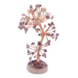 Gem Tree - Amethyst (Round Base)