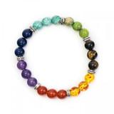 Chakra Crystal Bracelet (Mixed Beads)