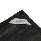Black 100% Silk Reading Cloth (48 x 48 cm)