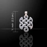 Eternal Knot Pendant (Sterling Silver)