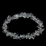 Clear Quartz Crystal Chip Bracelet