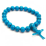 Turquoise (Reconstituted) Power Bracelet