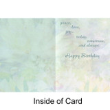 Enlightened Forest Heart Greeting Card (Birthday) by Alixandra Mullins