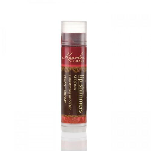 Kuumba Made Sedona Organic Lip Shimmer (Soft Red)