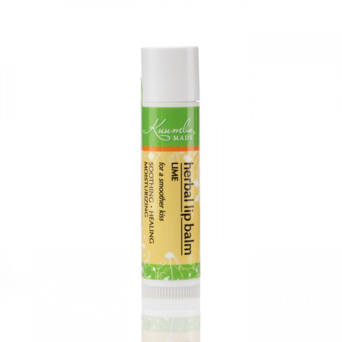Kuumba Made Lime Flavoured Organic Lip Balm
