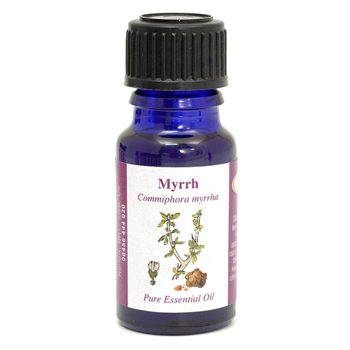 Myrrh Essential Oil (Somalia) - 10 ml (100% Pure Concentrated)