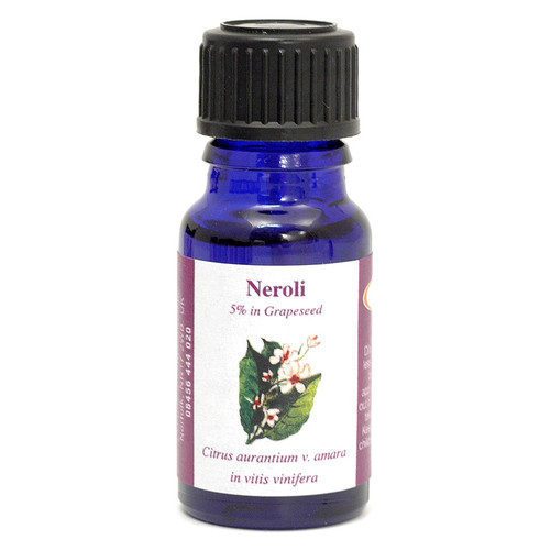 Neroli (5% Dilution in Grape Seed Oil) Essential Oil - 10 ml