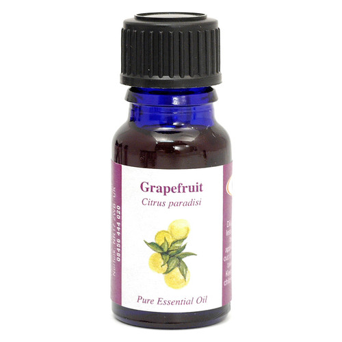Grapefruit Essential Oil (California) - 10 ml (100% Pure Concentrated)