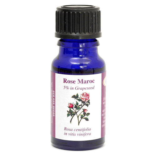 Rose Maroc (5% Dilution in Grape Seed Oil) Essential Oil - 10 ml