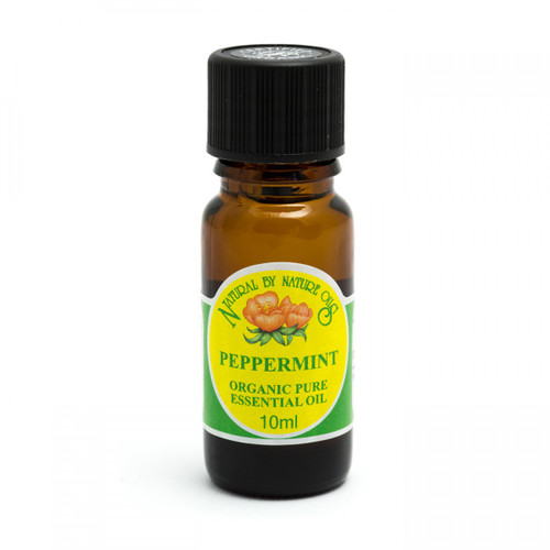 Peppermint Organic Pure Essential Oil (India) 10ml