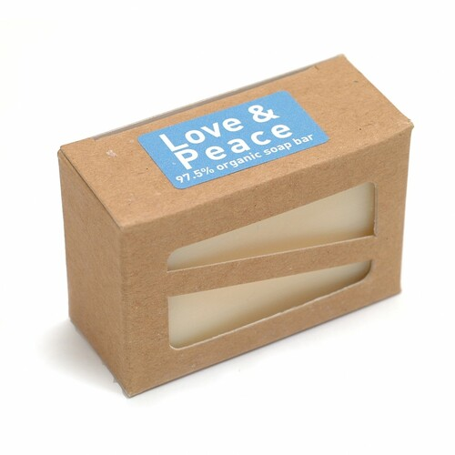 Love and Peace Organic Soap Bar