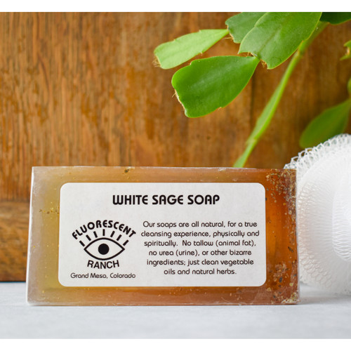 Natural White Sage Soap