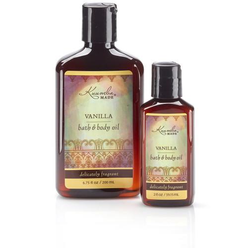 Vanilla Bath & Body Oil