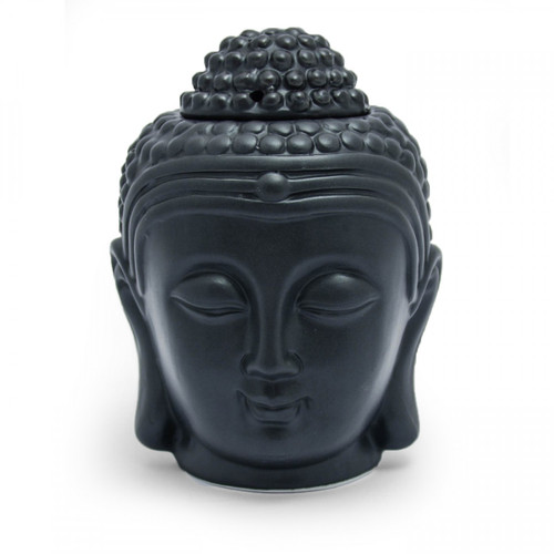 Buddha Head Oil Burner (Black)