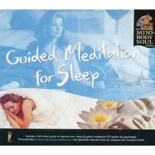 CD: Guided Meditation for Sleep - Simonette Vaja