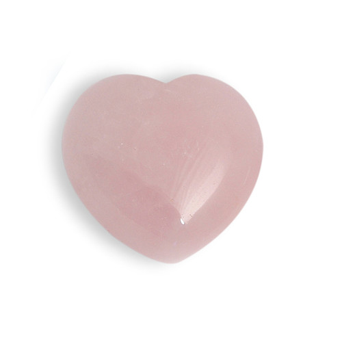 Baby Rose Quartz Crystal Heart