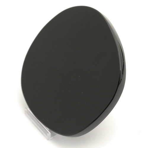 Black Obsidian Scrying Mirror (Irregular Circular Shape)