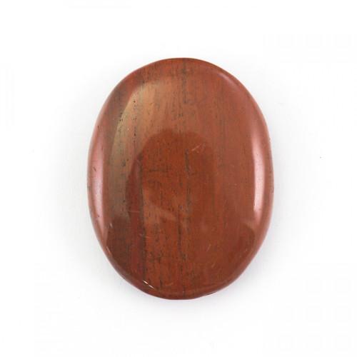 Red Jasper Crystal Palm Stone