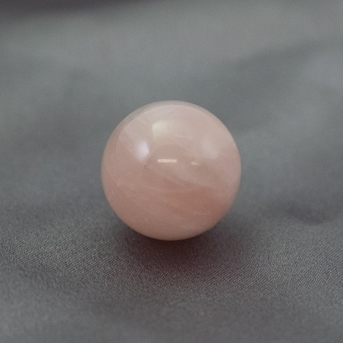 Baby Rose Quartz Crystal Sphere (20mm)