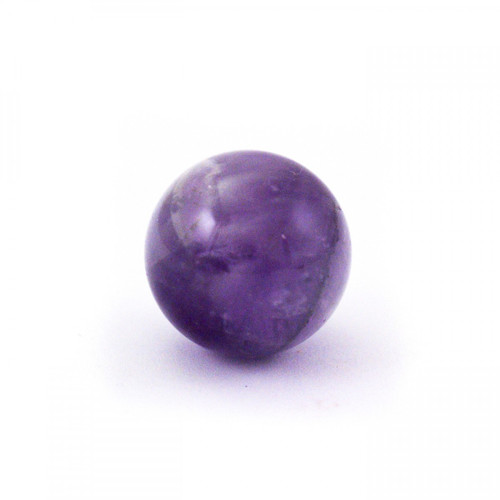 Baby Amethyst Crystal Sphere (20mm)