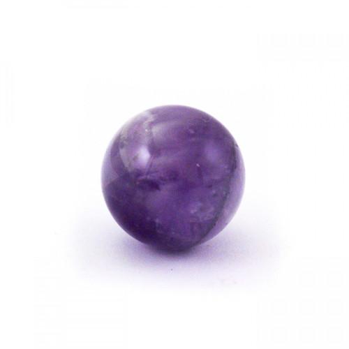Baby Amethyst Crystal Sphere (20mm)