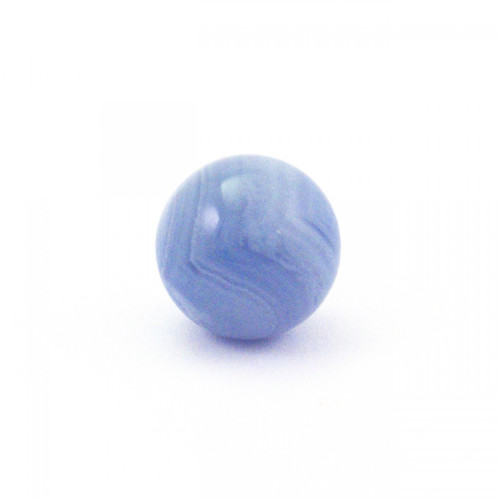 Baby Blue Lace Agate Crystal Sphere (20mm)