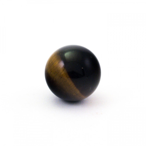 Baby Golden Tiger's Eye Crystal Sphere (20mm)