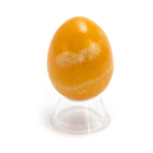 Orange Calcite Crystal Egg (45mm tall)