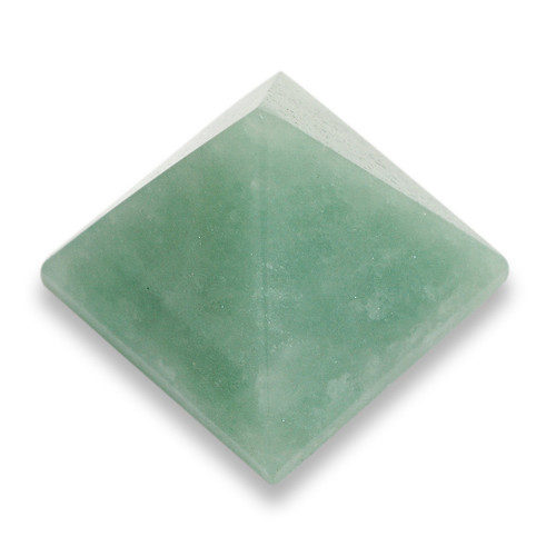Green Aventurine Crystal Pyramid (40mm base)