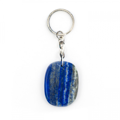 Lapis Lazuli Crystal Keyring