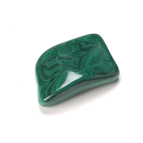 Malachite Tumblestone (from Zaire)